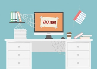 Workspace zamknięte na wakacje