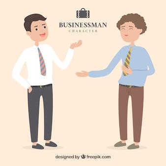 Wyraziste postacie biznesmen