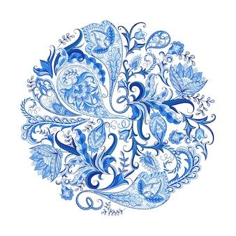 Wzór dekoracyjny Paisley