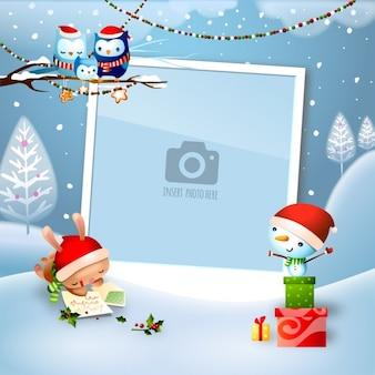 Wzór tła Boże Narodzenie