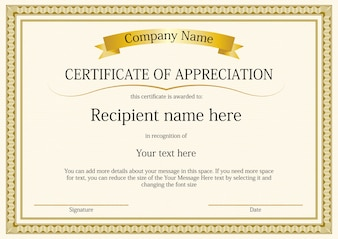 Wzorzec szablonu certyfikatu