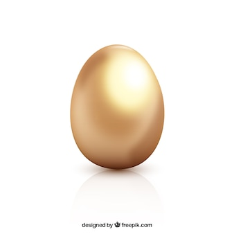 Złoty nudne easter egg