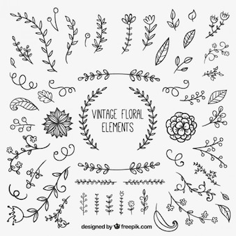 Zabytkowe elementy kwiatowym