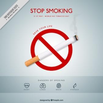 Zagrożeń wynikających z palenia