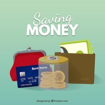 Zapisywanie elementów pieniądze