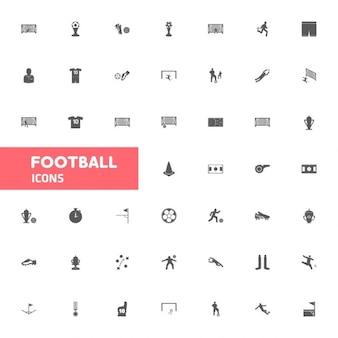 Zestaw ikon Piłka nożna