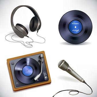 Zestaw sprzętu muzycznego