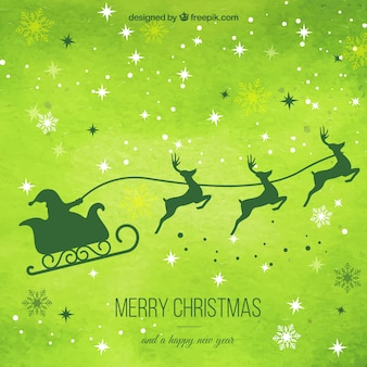 Zielone tło christmas