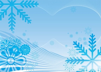 Zima śnieg wektor