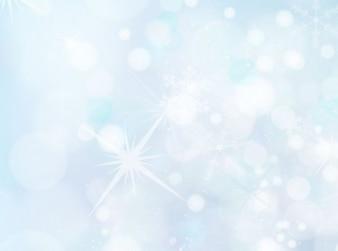 Zimne światło tle śniegu