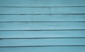 Ściany z niebieskim desek