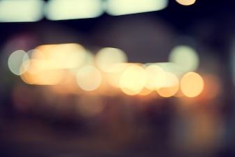 Światełka rozmazany bokeh tła z christmas party nocy dla projektu, zabytkowe lub retro kolor stonowanych