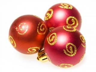 świąteczne ozdoby, kolor
