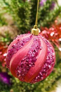 świąteczne ozdoby, piłka