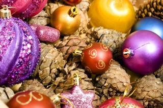 świąteczne ozdoby, prezent, Boże Narodzenie