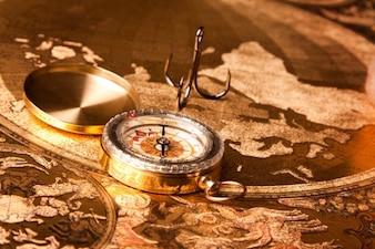 24 kompas mapa turystyczna ziemia