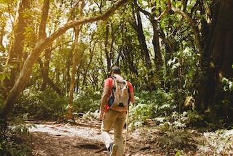 Backpacker na wycieczce