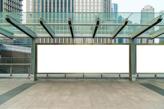 Banery reklamowe pusta kreatywność promocja noc