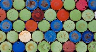 Beczki do przechowywania oleju