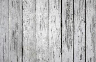 Bia? e drewno teksturowanej tle z woodgrain szczegó? owo
