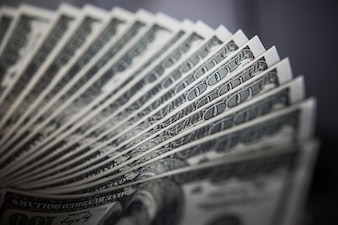 Billie dolara. tło pieniędzy