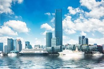 Budynek w Szanghaju