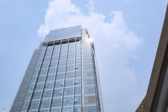 Budynek ze szkła