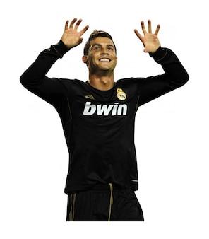 Cristiano Ronaldo Real Madryt la liga