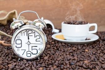 Czas przerwy w kawiarni