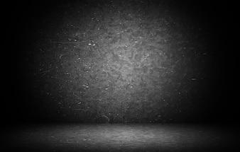 Dark grunge teksturowanej ścianie zbliżenie - dobrze wykorzystać jako tło cyfrowego studio