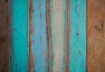 Drewniane malowane deski
