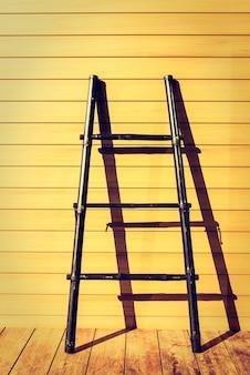 Drewno tekstury tła mroźny schody