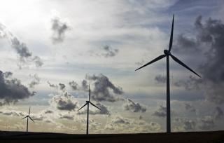 energii wiatrowej, młyn