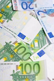 euro rachunki banknoty