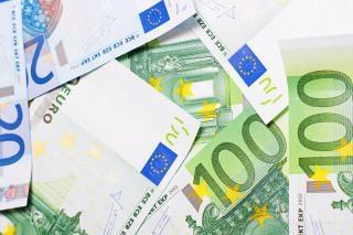 euro rachunki bliska