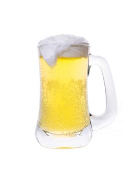 Frosty kufel piwa