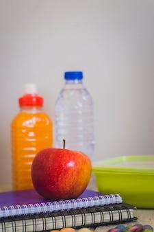 Jabłko i zdrowa przekąska