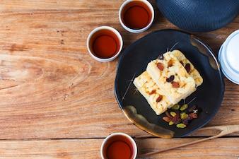 Karmel traktuje chiński tradycyjny deser - Karmel traktuje, Sachima