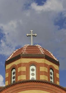 kopułą kościoła