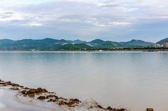 Krajobraz jeziora