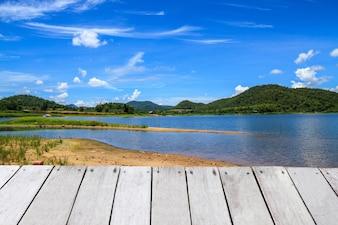 Krajobraz Reservoir