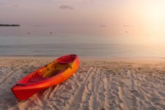 Malediwy piękne słońce relaks reszta