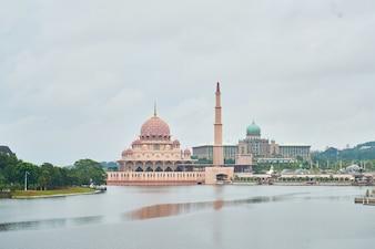 Malezja Putrajaya Muzułmańskie krajobraz turystyki