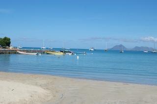 Martynika wyspy, plage