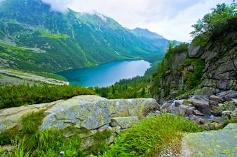 Morskie Oko w Tatrach.