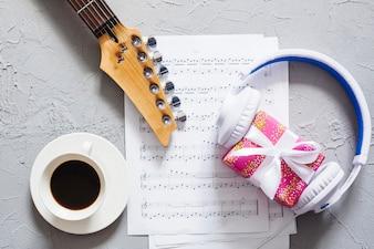 Muzyka nadal życia z kawą