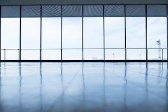Obraz okien w budynku biurowym