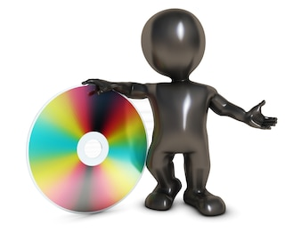 Osoba z cd rom