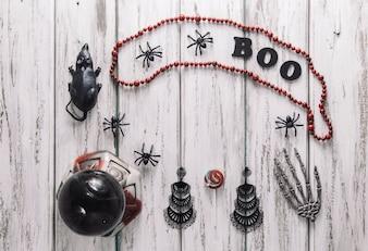 Pęczek rzeczy Halloween