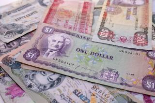 Pieniądze Karaiby